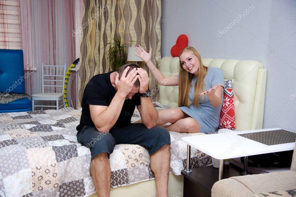фото жены в комнате дошло, что