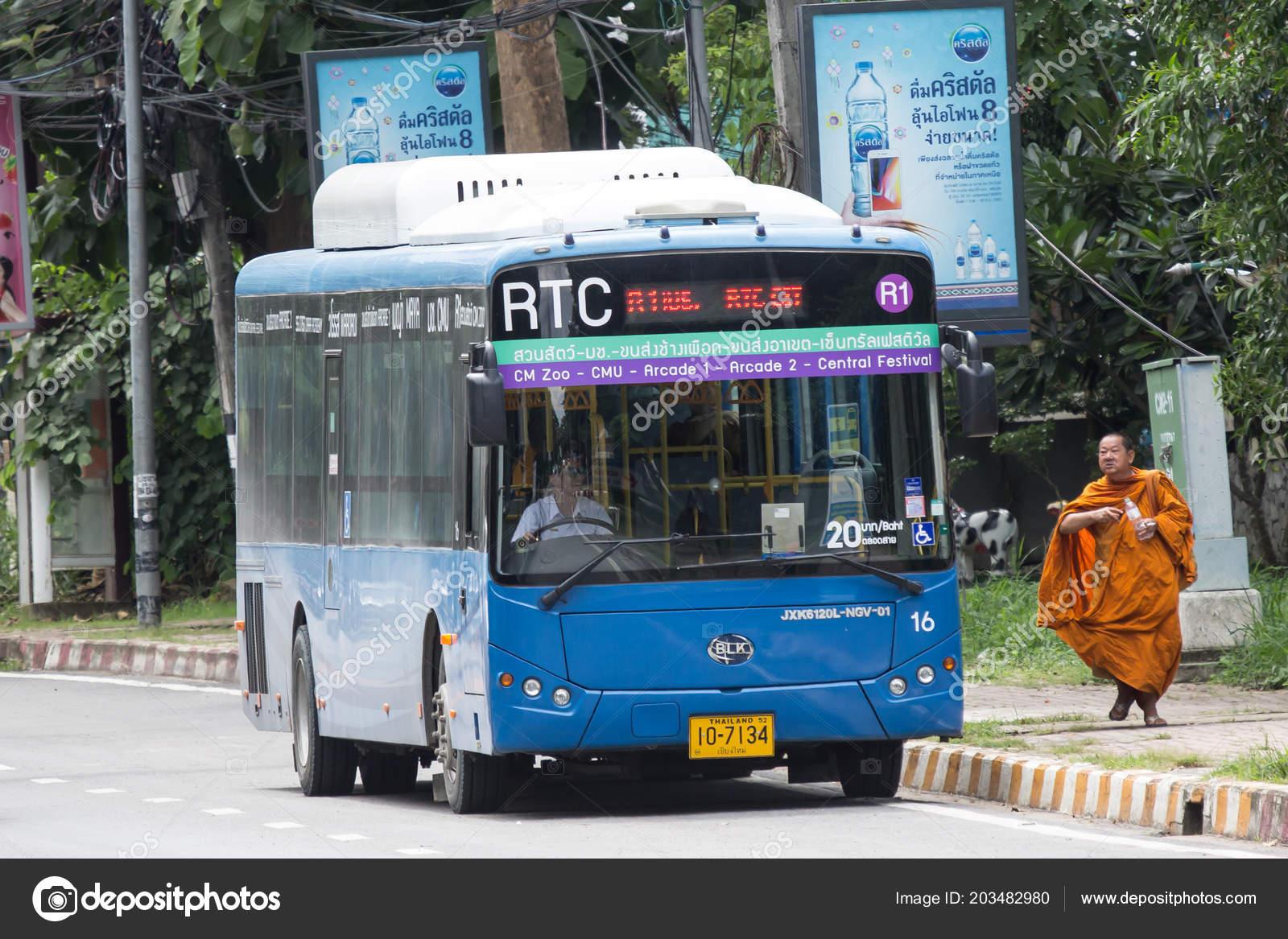 Carte Wifi Thailande.Chiang Mai Thailande Juillet 2018 Blk Autobus Rtc Bus Smart Photo