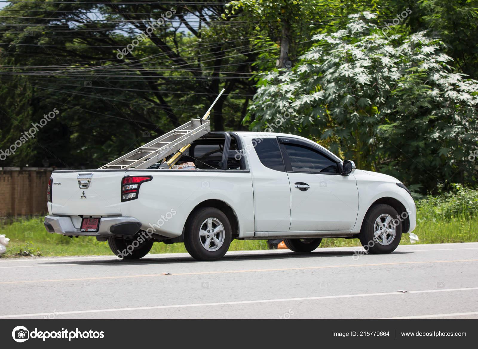 Chiangmai Thailand August 2018 Private Car Mitsubishi Triton