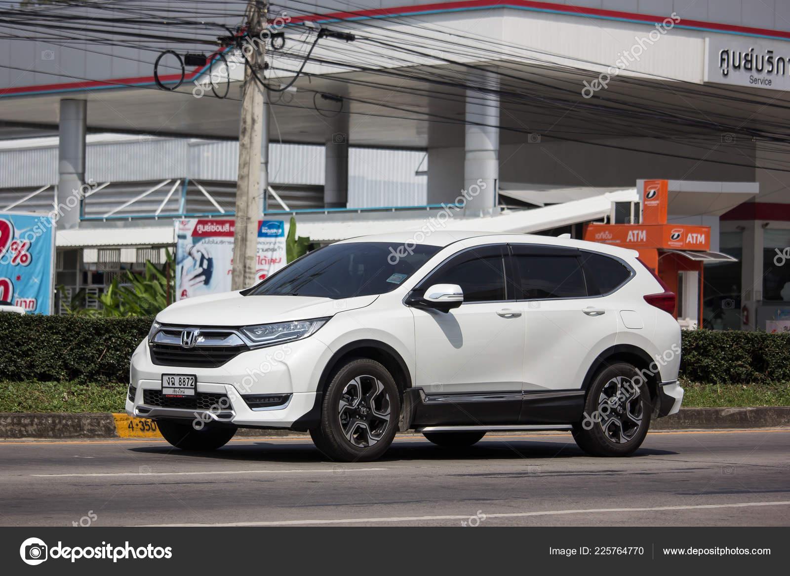 Chiangmai Thailand October 2018 Private Car Honda Crv City Suv