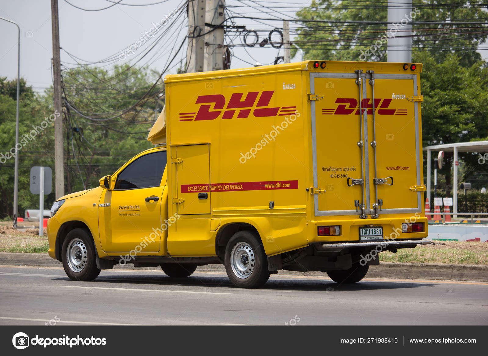 Dhl Pickup Locations >> Dhl Express And Logistics Container Stock Editorial Photo