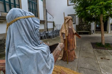 Joseph and Mary in the small Portuguese town of Tui