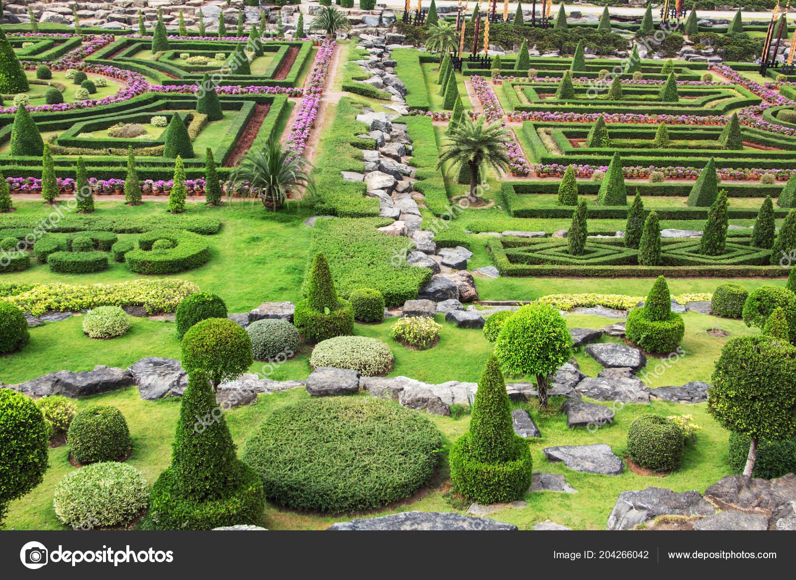 Nong Nooch Garden Pattaya Thailand — Stock Photo