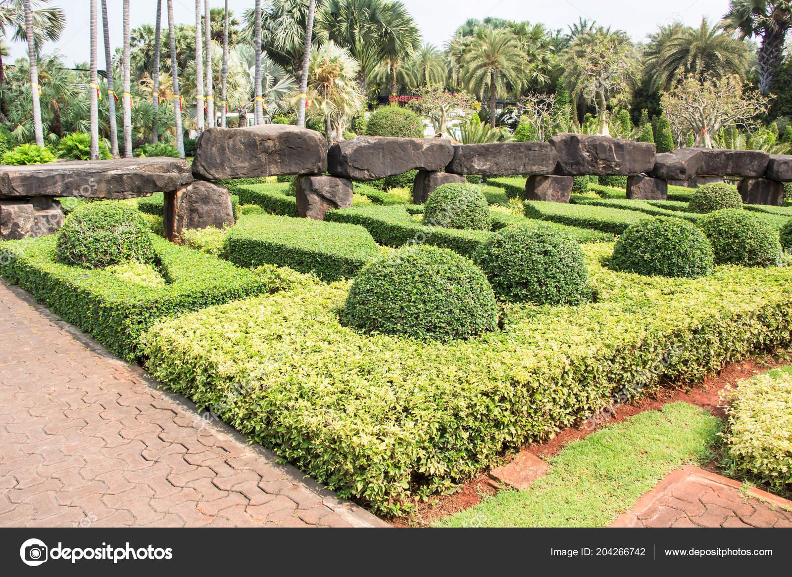 Nong Nooch Tropical Botanical Garden Pattaya Thailand — Stock Photo
