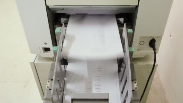 Druckmaschine für Arbeitskopie