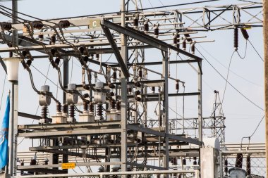 Electrical power in high voltage substation
