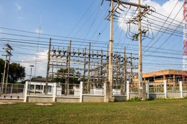 main intake substations. High voltage