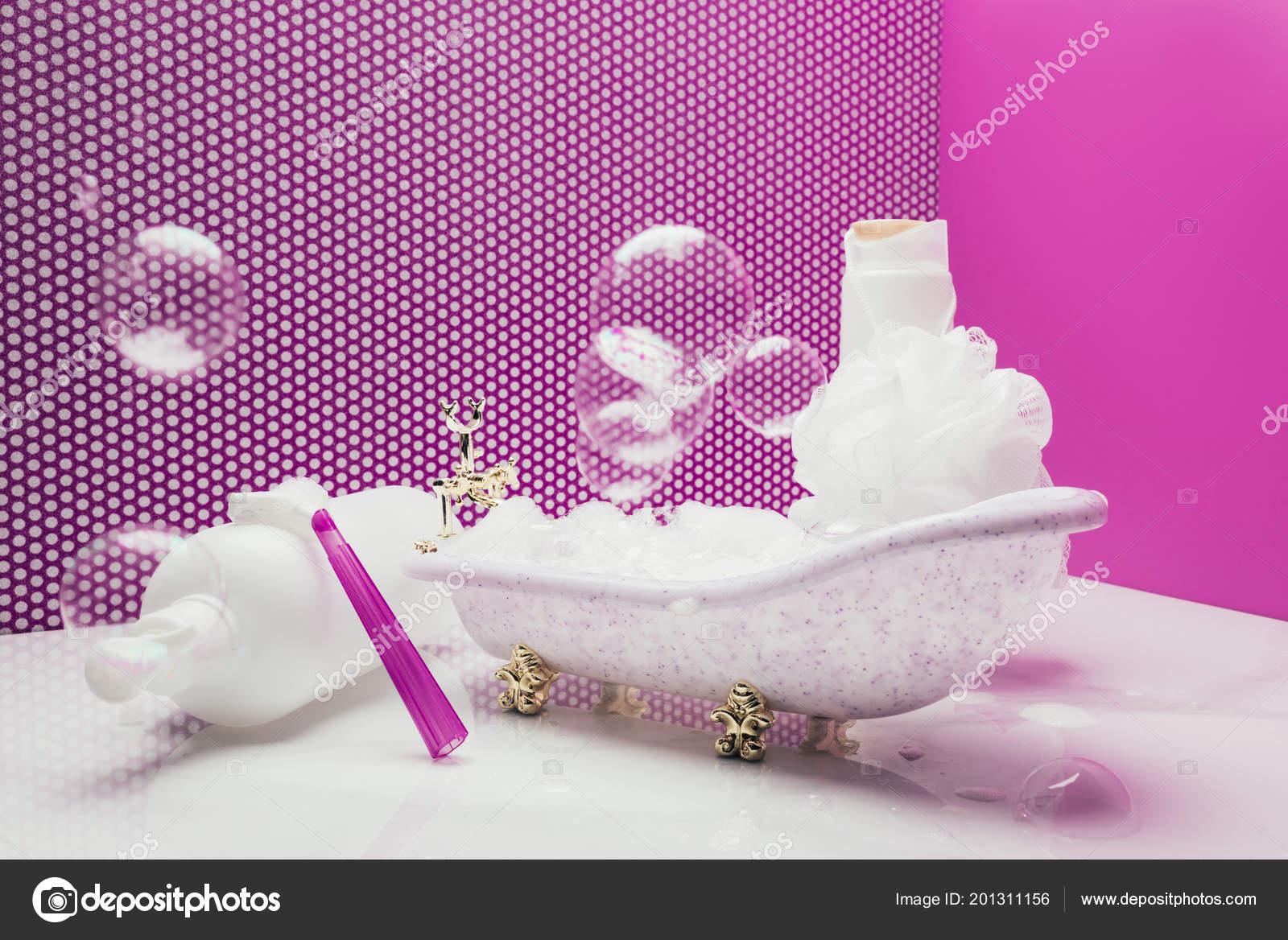 Pompas Real Con Personal Insumos Jabón Higiene Tamaño Baño Juguetes cARq5j34SL
