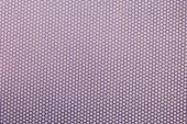 Fotografie top view of violet spotted textile as background