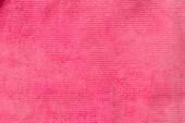 pohled shora pruhované růžové textilu jako pozadí