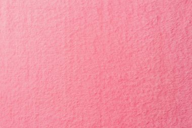 elevated view of pink soft textile as background