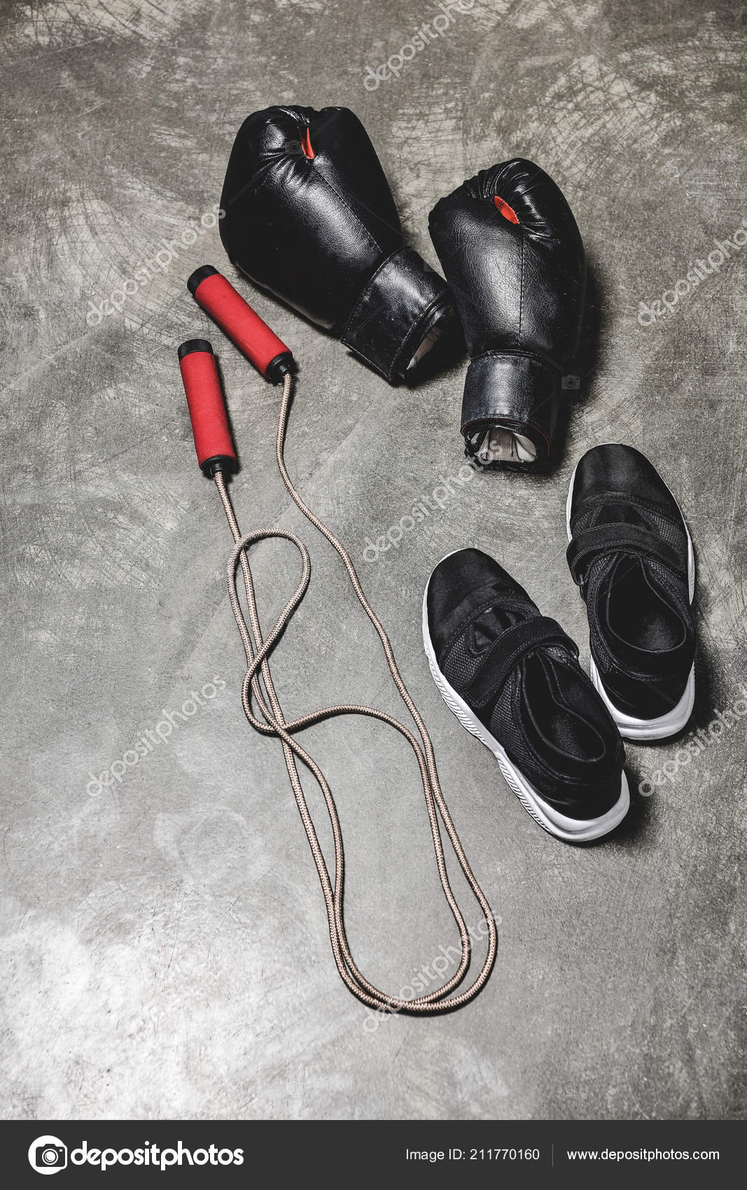 Sporting Shoes Jumping Rope Boxing