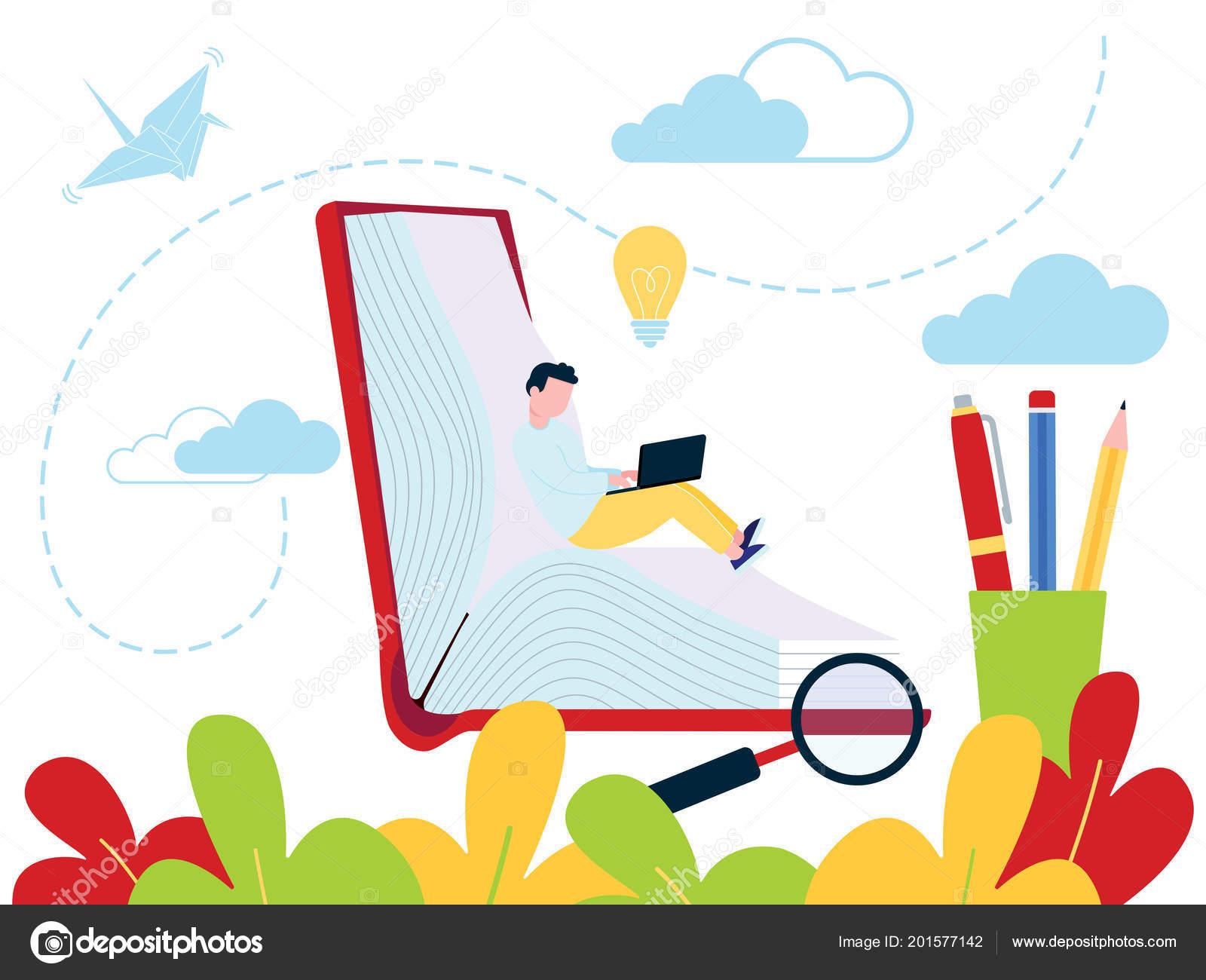 Education Concept Online Tutorial Training Courses Web