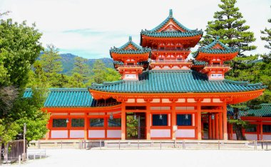 Peace temple, the famous temple in Kyoto, Japan.