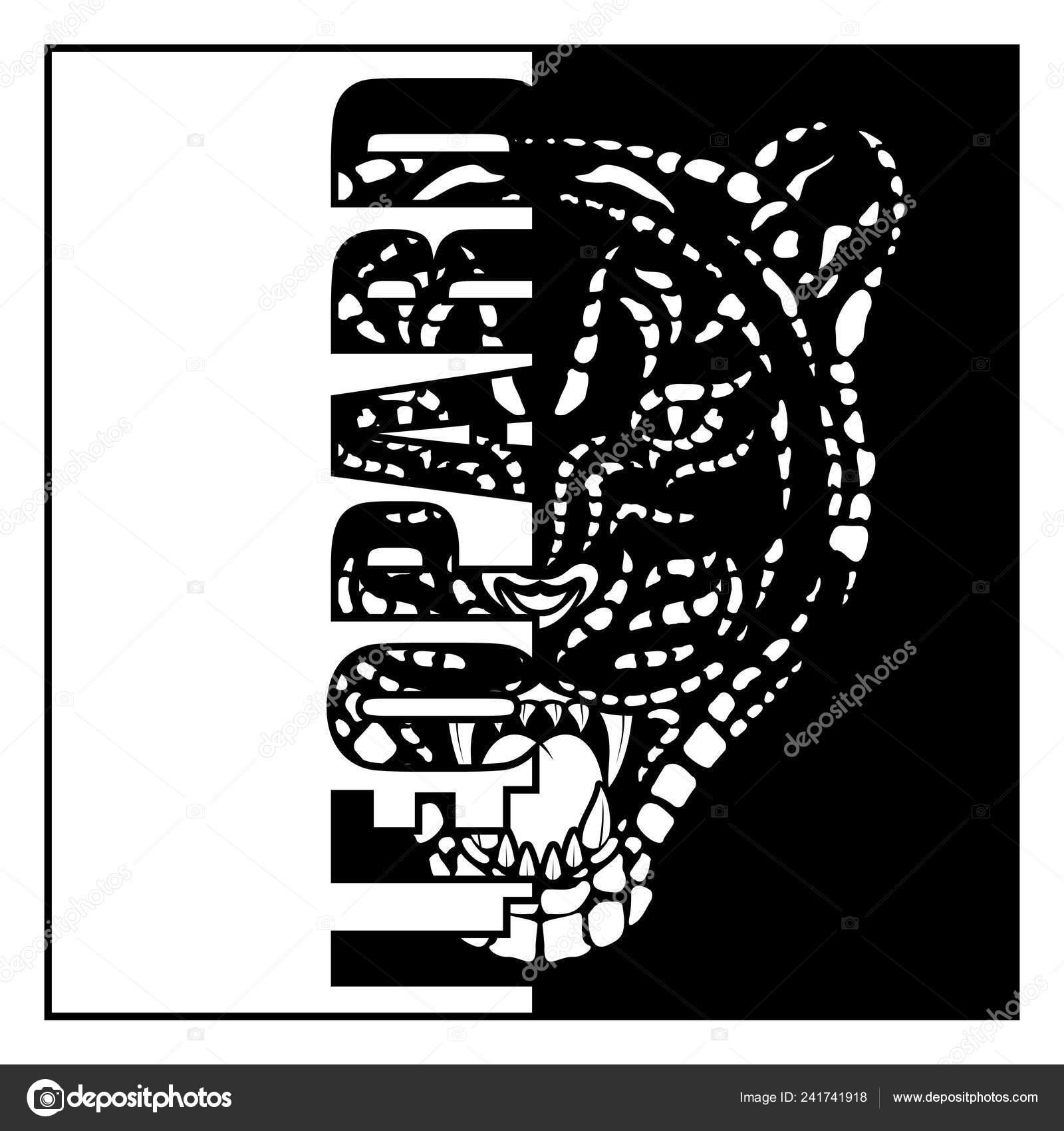 Vector imagen cabeza leopardo carnívoro gruñido depredador sabana tatuaje tribal vector de stock