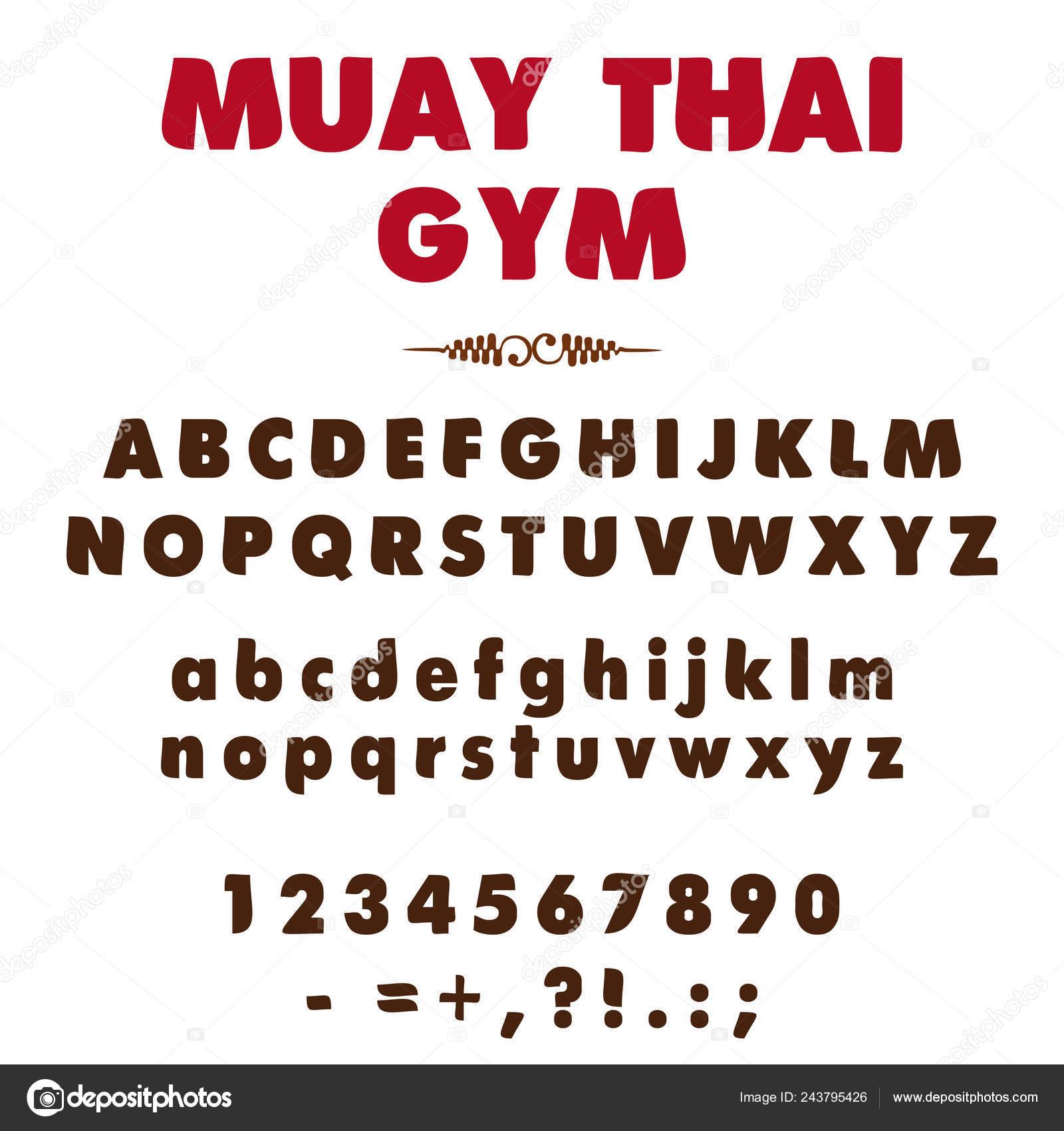 64e9d9157 Conjunto Mínimo Letras Alfabeto Estilizado Números Sinais Pontuação ...