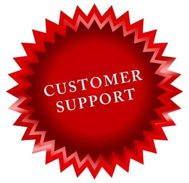 Customer support web Sticker Button
