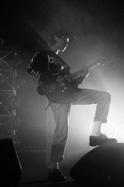 12.02.2019. RIGA, LATVIA. American band The Neighbourhood performs at Arena Riga.