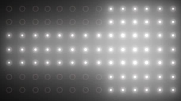 Animace stěny světel