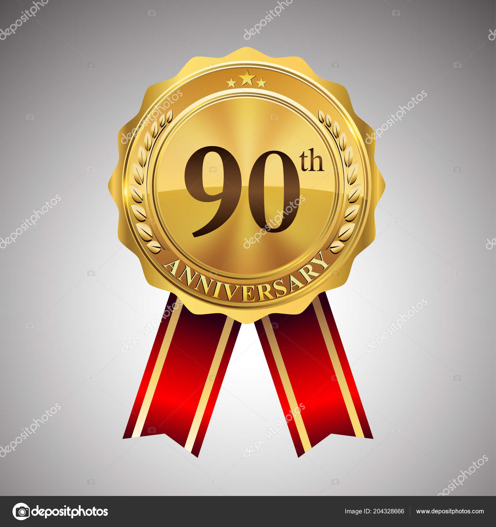 Logotipo Celebración Aniversario Años Diseño Vectorial Para