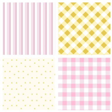 PrintSet Geometric pattern.Texture for plaid, tablecloths, clothes, shirts, dresses, paper, bedding, blankets, quilts and other textile products