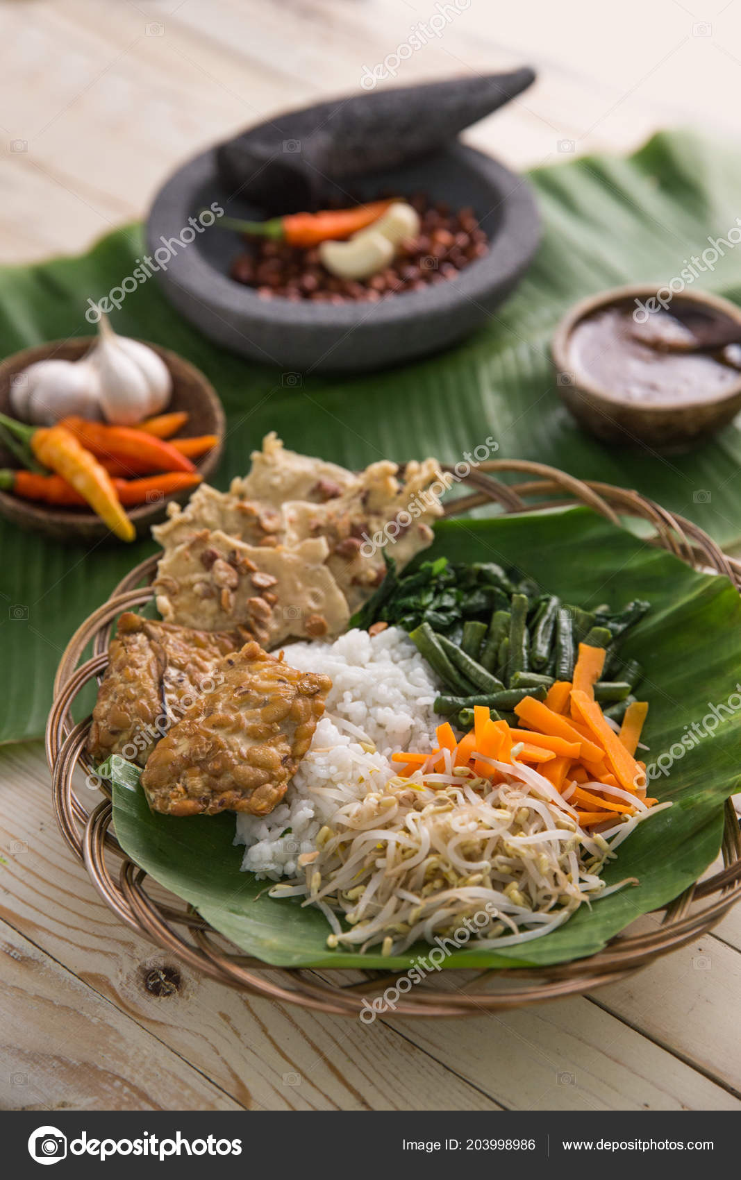 Traditional Indonesian Food Photography