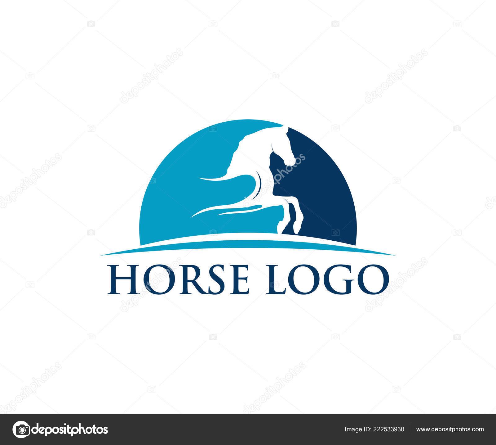 Sport Logo Design Inspiration Simple Horse Sport Vector Logo Design Inspiration Racing Equestrian Farm Stock Vector C Great19 222533930