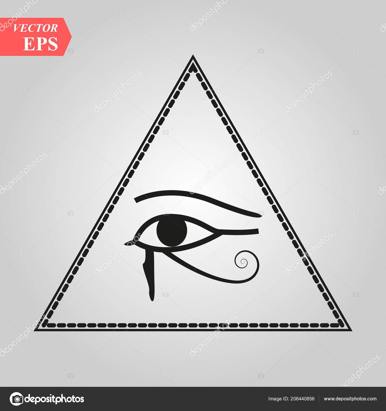 All Seeing Eye God Eye Providence Eye Omniscience Luminous Delta