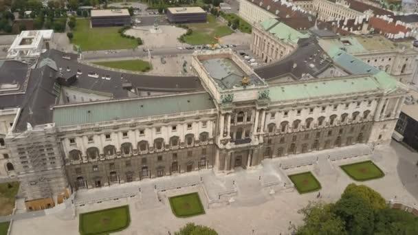 Luftaufnahme der Skyline von Wien. Luftaufnahme von Wien. heldenplatz, hofburg kaiserliche residenz und stadtbild stadt wien, Österreich