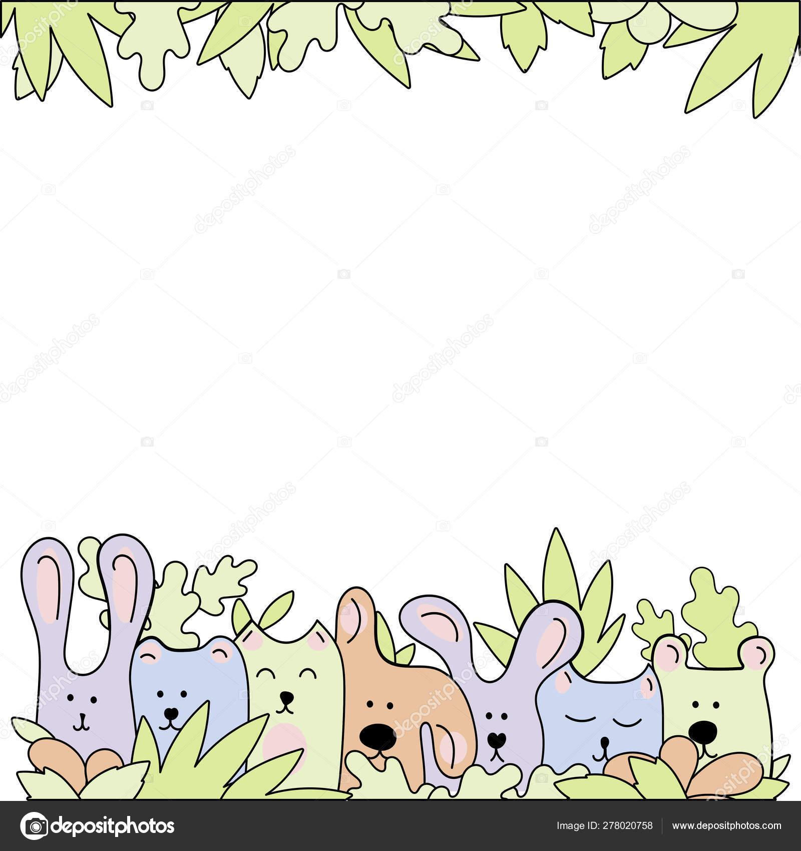 Dibujo De Línea Vectorial Ilustración De Garabatos Los