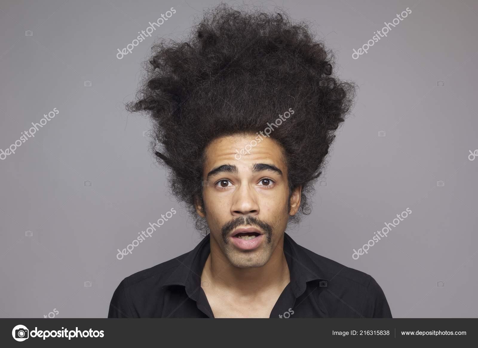 Afro black man