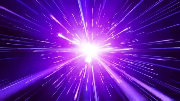 Repülő csillagok ösvények, zökkenőmentes hurok animáció
