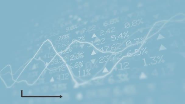 Sloupcový graf grafu diagramu animace