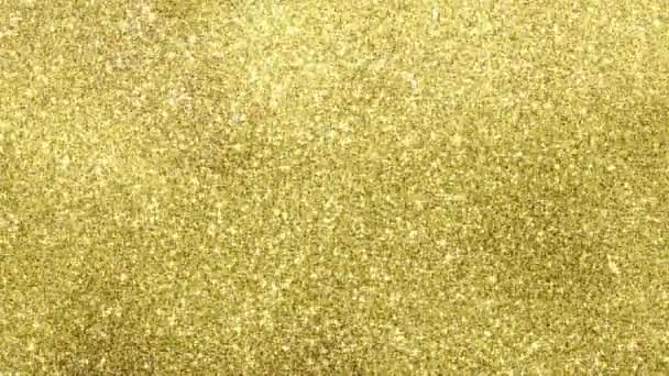Zlaté, třpytily se, plynulé smyčky