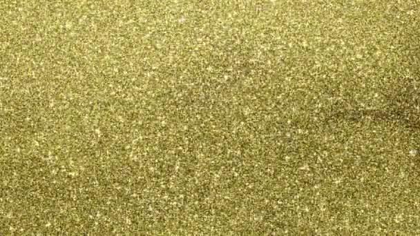 Golden glimmered háttér, zökkenőmentes hurok animáció