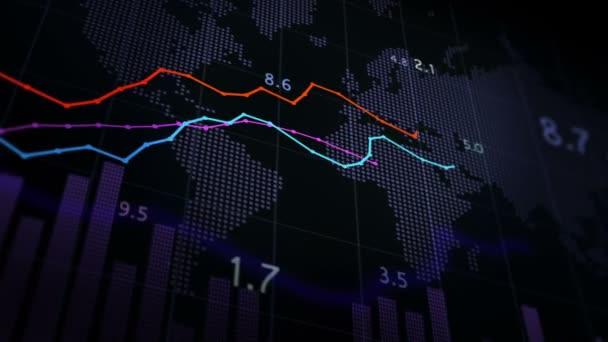 A pénzügyi állományokra vonatkozó adatok animációja