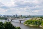 Fotografie Alexandra Brücke zwischen Gatineau, Québec und Ottawa, Ontario