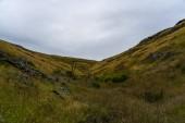 Küste der Schneider Fehler Laufsteg in Neuseeland, Neuseeland Ozeanstrand, erstaunliche Natura von Neuseeland, nebliges Wetter auf der Südinsel Neuseeland