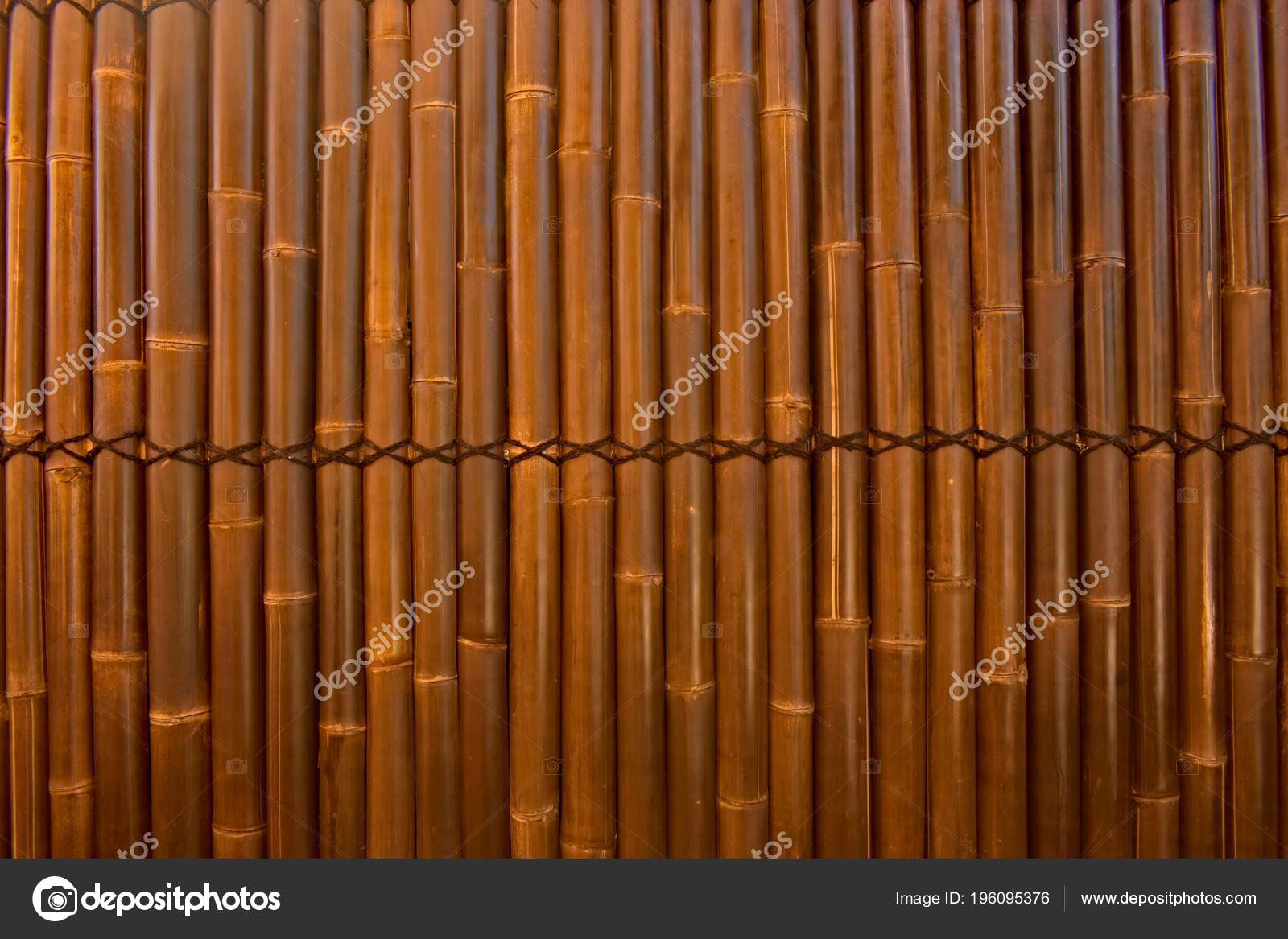 Images: bamboo fencing | Bamboo Fencing Backyard — Stock