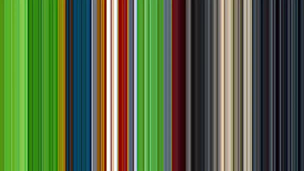 Motion background of vertical multi colored stripe pattern (shades of green,  blue, grey, yellow and red )