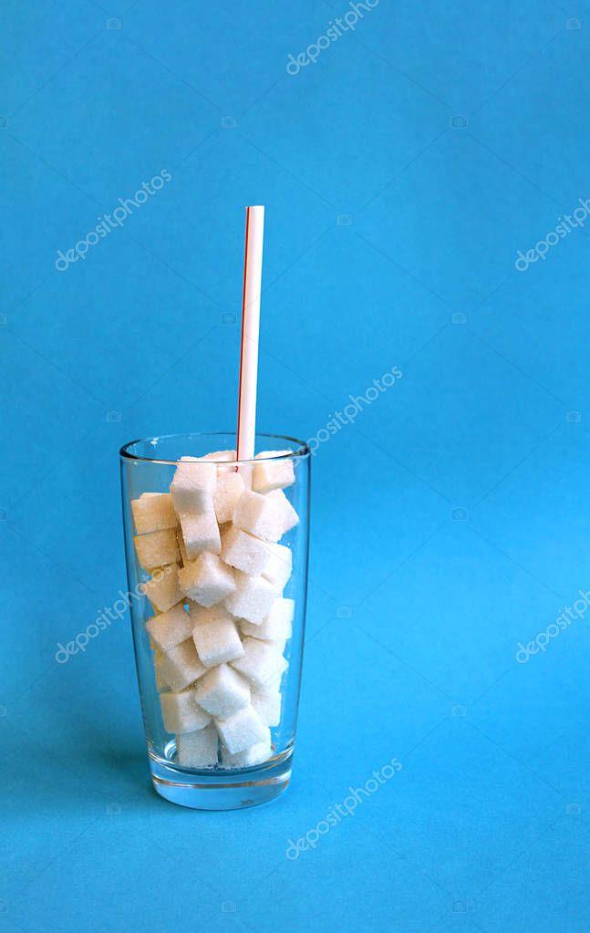 Как сфотографировать сахар в стакане