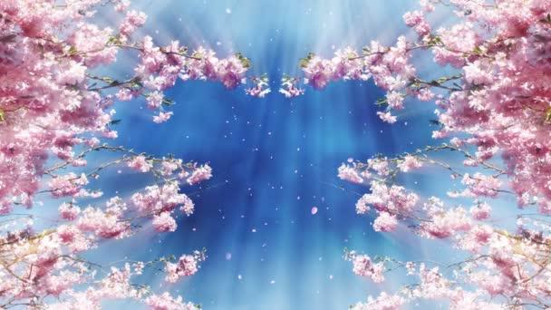 Sakura Tree a modrý Nebeský animovaný film