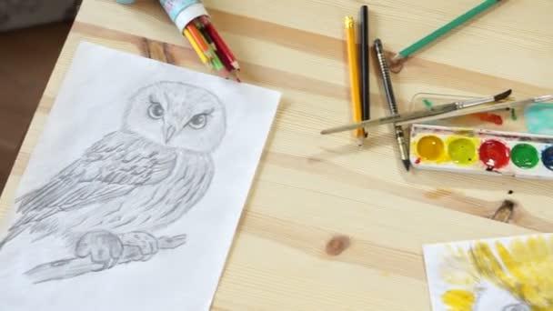 Rajzok a madarak-tábla