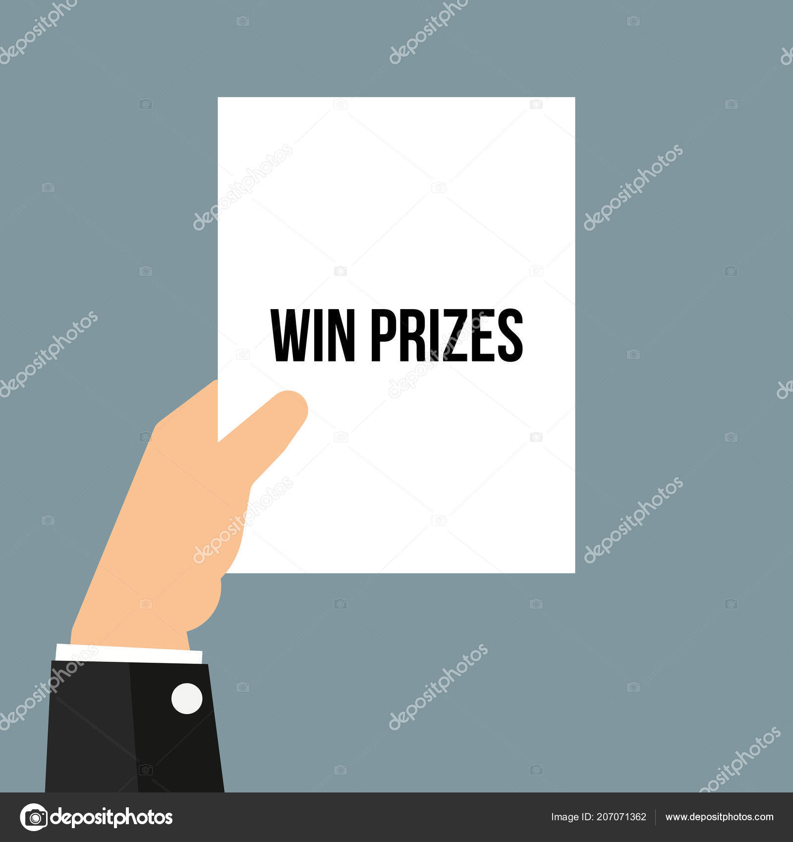 Text to win prizes