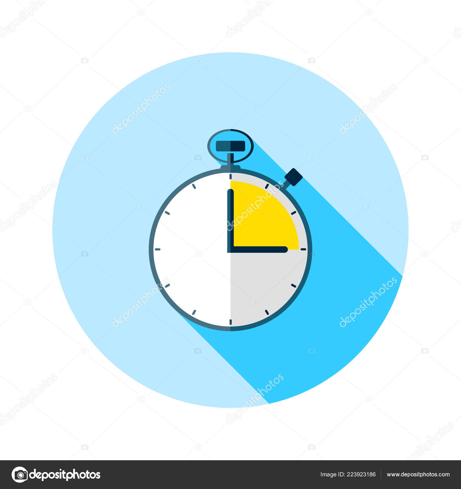 stopwatch icon timer icon chronometer sport timekeeper