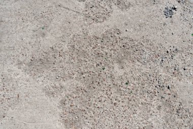 close-up view of old grey weathered concrete background