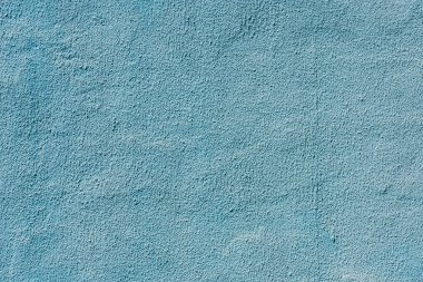 full frame view of blue weathered concrete wall background