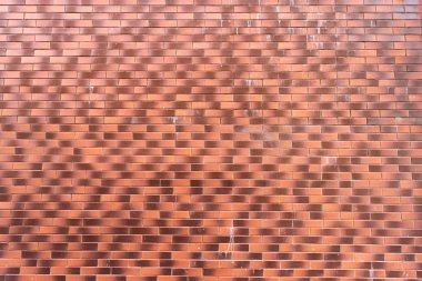 light and dark brown brick wall textured background