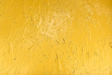 bright yellow scratched wooden textured background
