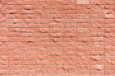 Full frame view of red brick wall textured background stock vector
